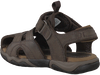 Braune TIMBERLAND Sandalen OAK BLUFFS LEATHER FISHERMAN - small
