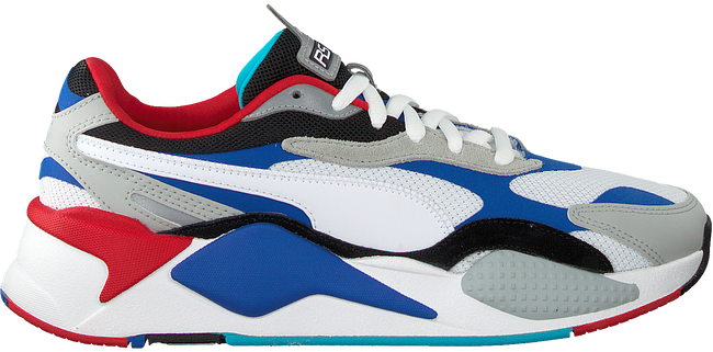 Weiße PUMA Sneaker low RS-X3 PUZZLE  - large