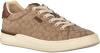 Braune COACH Sneaker low ADB SIG JACQUARD LOW TOP  - small