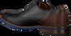 Schwarze VAN LIER Business Schuhe 1915310  - small