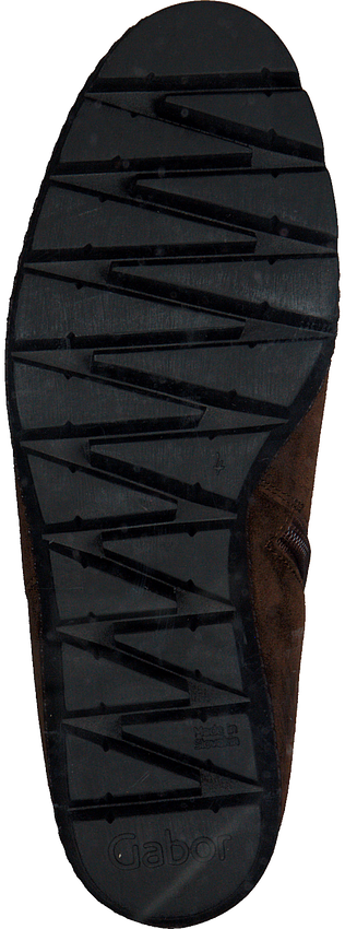 Cognacfarbene GABOR Hohe Stiefel 780.1  - larger