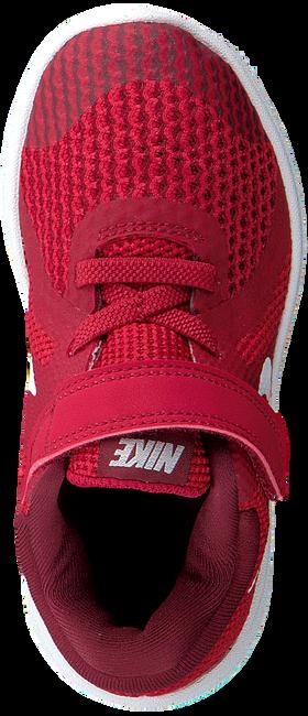 Rote NIKE Sneaker REVOLUTION 4 (TDV)  - large