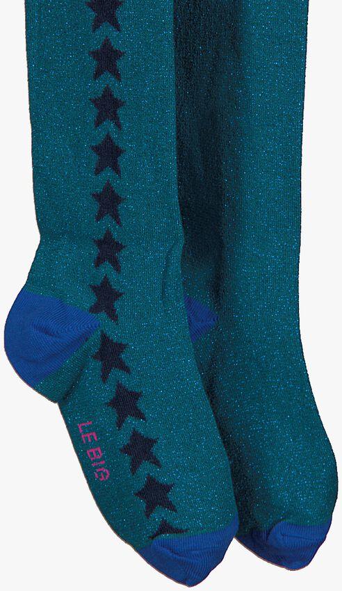 Blaue LE BIG Socken PADMA TIGHT  - larger