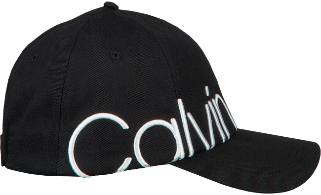 Schwarze CALVIN KLEIN Kappe BIND EMBROIDERY CAP  - large