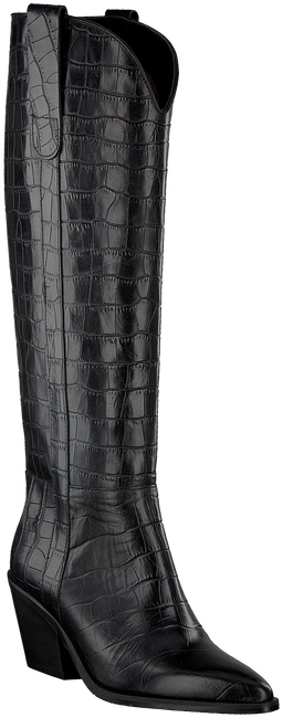 Schwarze NOTRE-V Hohe Stiefel AH68  - large