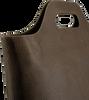 Braune MYOMY Handtasche CARRY SHOPPER - small