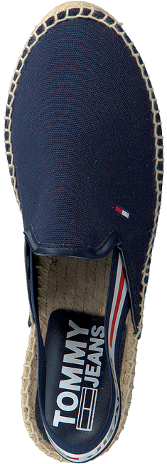 Blaue TOMMY HILFIGER Espadrilles CHUNKY TAPE SLINGBACK  - large