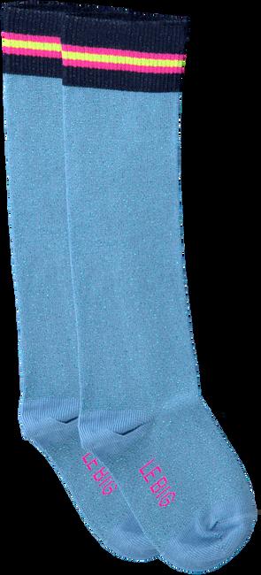 Blaue LE BIG Socken TABRETT KNEE HIGH  - large