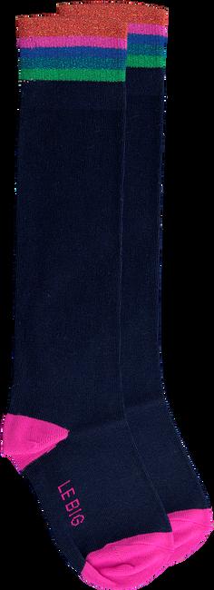 Blaue LE BIG Socken PRESLEY KNEE HIGH  - large