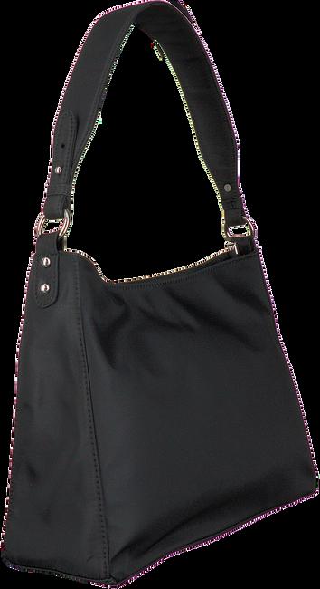 Schwarze HVISK Handtasche AMBLE NYLON RECYCLED  - large