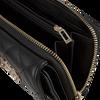 Schwarze GUESS Portemonnaie SWEET CANDY SLG LRG CLTCH ORG  - small