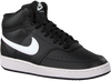 Schwarze NIKE Sneaker low COURT VISION MID WMNS  - small
