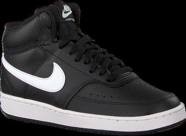 Schwarze NIKE Sneaker low COURT VISION MID WMNS  - large