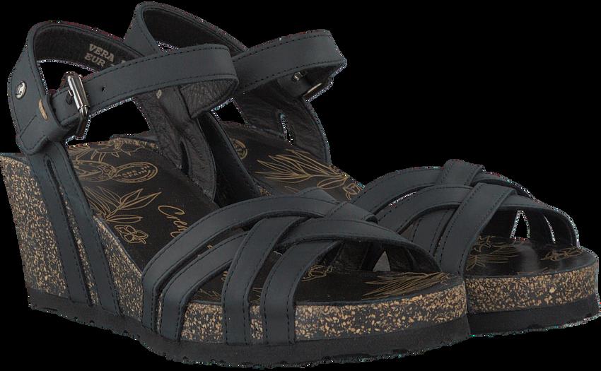 Black PANAMA JACK shoe VERA  - larger