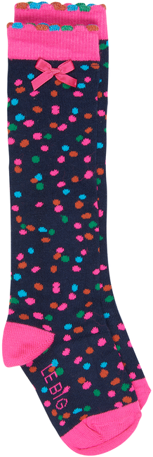 Schwarze LE BIG Socken KYARA KNEEHIGH - large