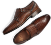 Braune GREVE Business Schuhe RIBOLLA 1446  - small