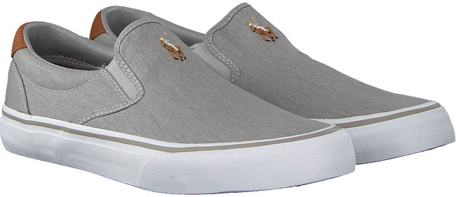 Graue POLO RALPH LAUREN Slip-on Sneaker THOMPSON  - large