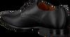 Schwarze VAN LIER Business Schuhe 1958902  - small