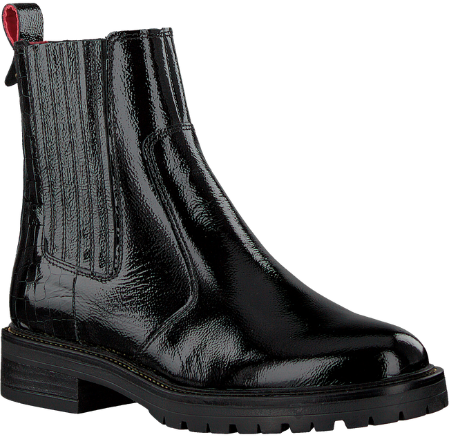 Schwarze HABOOB Ankle Boots P6708  - large