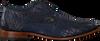 Blaue REHAB Business Schuhe GREG CROCO DUO  - small