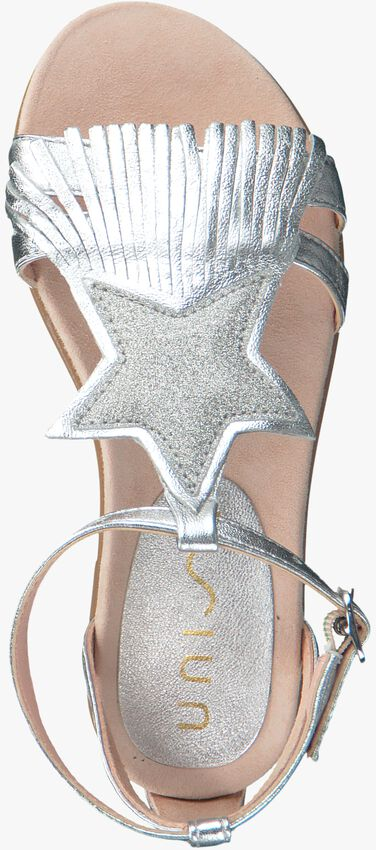 Silberne UNISA Sandalen LESTAR - larger
