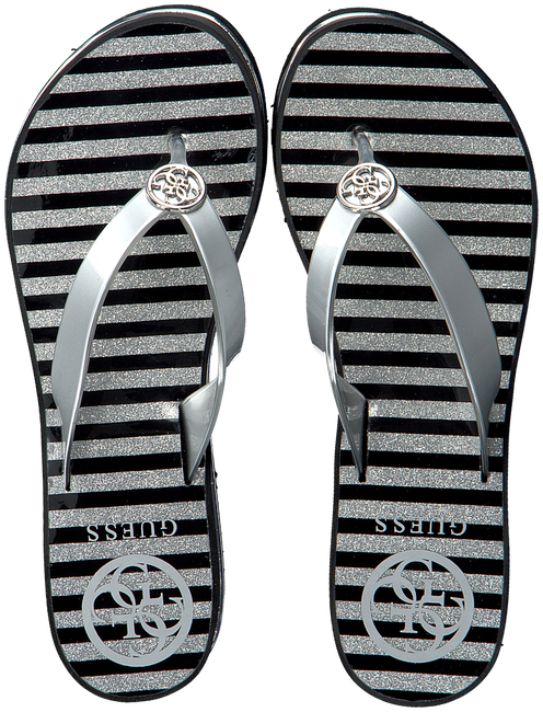 Silberne GUESS Pantolette ENZY  - large