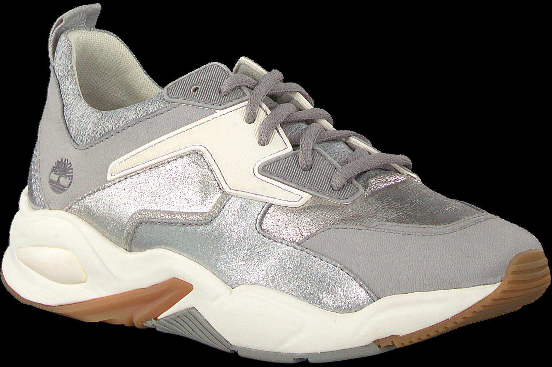 Silberne TIMBERLAND Sneaker DELPHIVILLE LEATHER SNEAKER DE