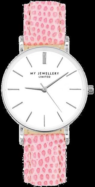 Silberne MY JEWELLERY Uhr SMALL VINTAGE WATCH mV3jc