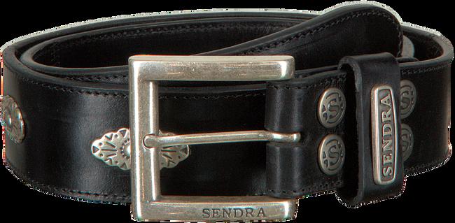 Schwarze SENDRA Gürtel 1197  - large