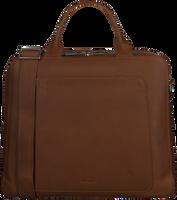 Cognacfarbene MYOMY Laptoptasche MY LOCKER BAG BUSINESS  - medium