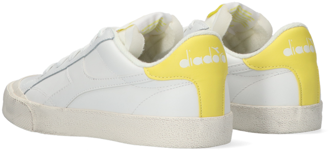 Weiße DIADORA Sneaker MELODY MID LEATHER DIRTY  - large