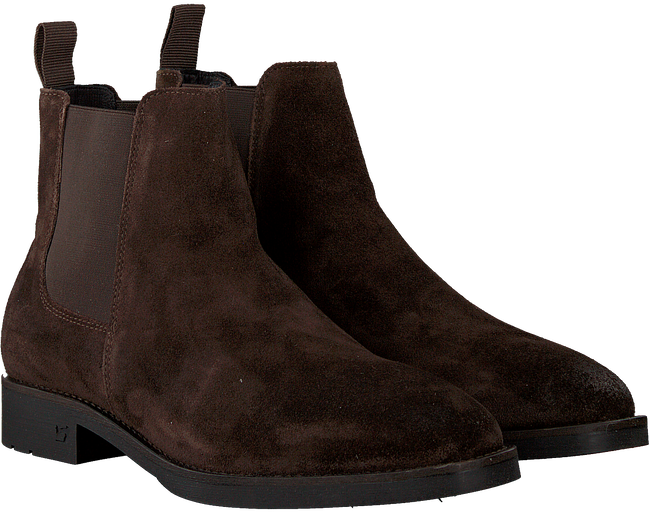 Braune SCOTCH & SODA Chelsea Boots PICARO  - large