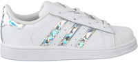 Weiße ADIDAS Sneaker SUPERSTAR EL I  - medium