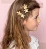 Goldfarbene LE BIG Stirnband RAQUEL HAIRCLIP  - small