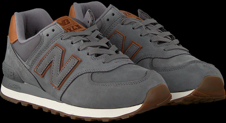 Graue NEW BALANCE Sneaker 738041-60 | Omoda