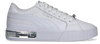 Weiße PUMA Sneaker low CALI STAR METALLIC WN'S  - small
