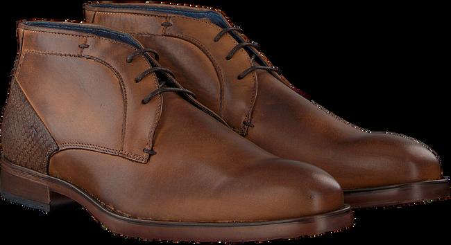 Cognacfarbene OMODA Business Schuhe 734-A - large