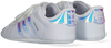 Weiße ADIDAS Babyschuhe SUPERSTAR CRIB  - small