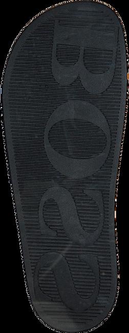 Schwarze HUGO BOSS Zehentrenner SOLAR SLID LOGO - large