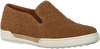 Cognacfarbene MAZZELTOV Slipper 51129  - small