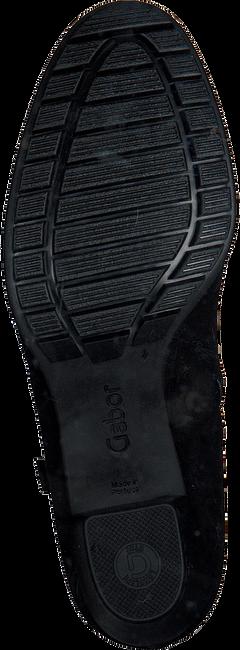 Schwarze GABOR Stiefeletten 603.1  - large