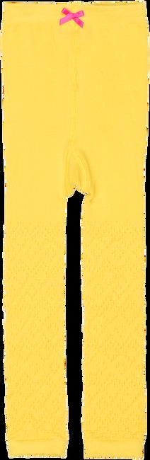 Gelbe LE BIG Socken JAEL LEGGING - large