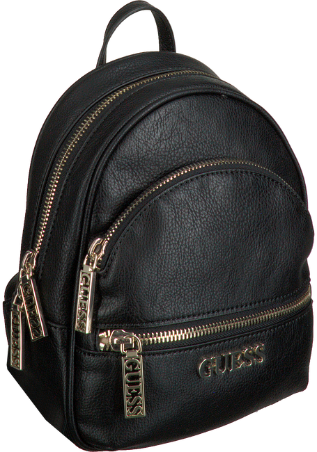 Schwarze GUESS Rucksack MANHATTAN SMALL BACKPACK  - large