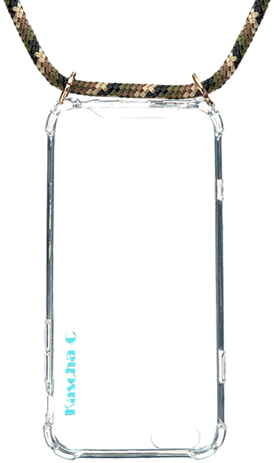 Grüne KASCHA-C Handy-Schutzhülle PHONECORD IPHONE 7+/8+  - large