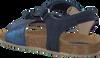 Blaue CLIC! Sandalen GARDEN - small