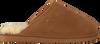 Cognacfarbene WARMBAT Hausschuhe CLASSIC UNISEX SUEDE - small