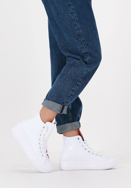 Weiße CONVERSE Sneaker high CHUCK TAYLOR ALL STAR MOVE  - large