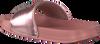 Roségoldene TOMMY HILFIGER Pantolette POOL SLIDE  - small