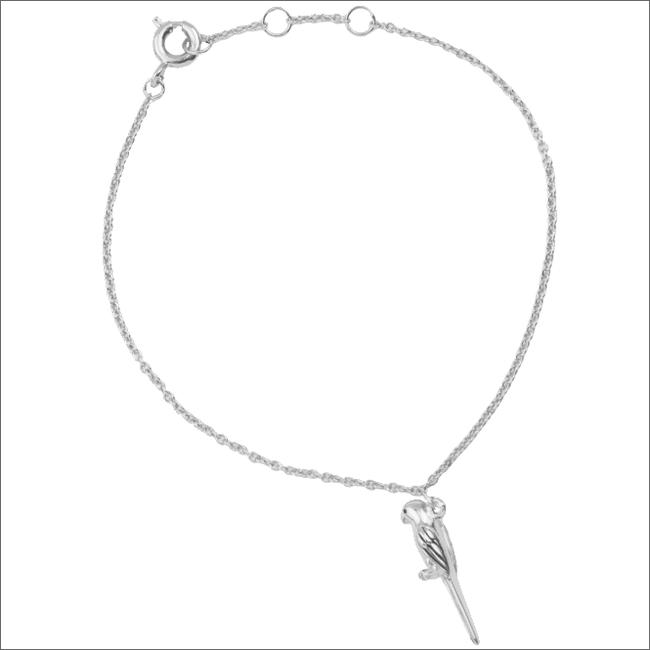 Silberne ALLTHELUCKINTHEWORLD Armband SOUVENIR BRACELET PARROT - large