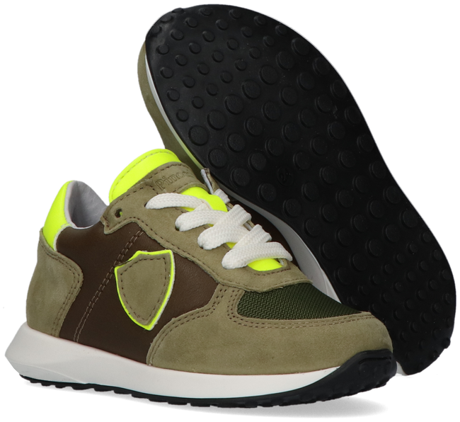 Grüne PINOCCHIO Sneaker low P1776  - large